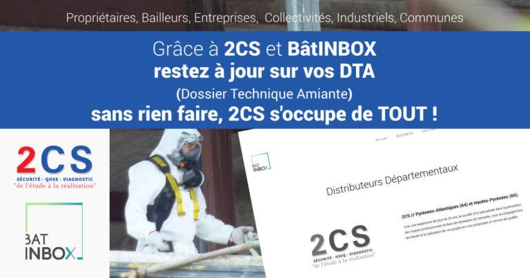 gestion de vos DTA à 2CS via notre SaaS de gestion dématérialisée BatINBOX - Crédit Photo : Petit_Louis cc-by